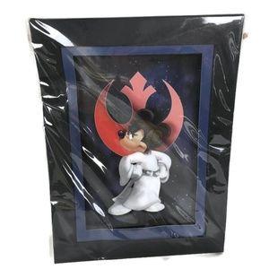 Disney Cel Lazer Star Wars Minnie Mouse Leia